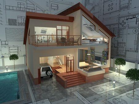 キッチンを1階から2階に移動する場合