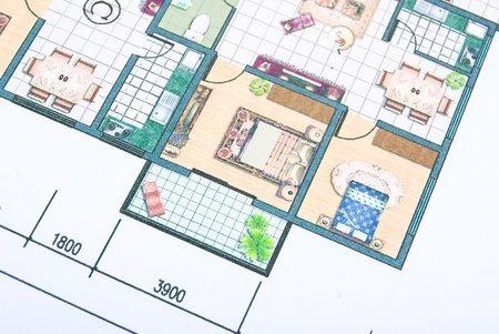 左右分離型二世帯住宅の間取り例