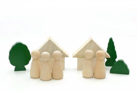 完全分離型二世帯住宅の事例