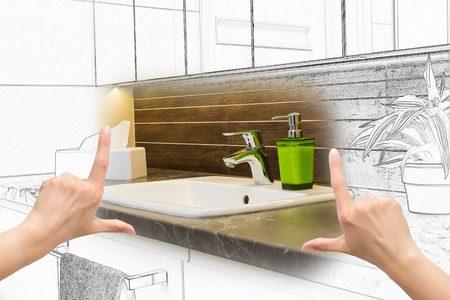 マンションでの洗面所のリフォーム事例