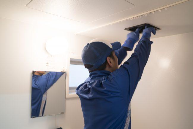 トイレの換気扇を交換する業者
