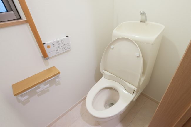 トイレを2階に増設する