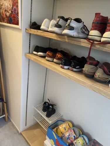 子ども靴収納